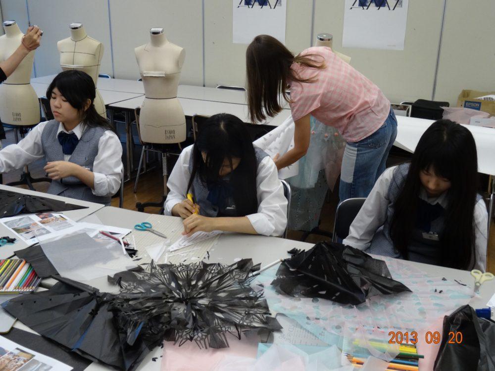 江東服飾高等専修学校 授業風景
